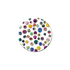 Play with me Golf Ball Marker (4 pack)