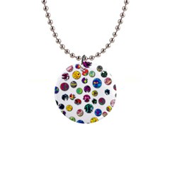 Play with me Button Necklaces