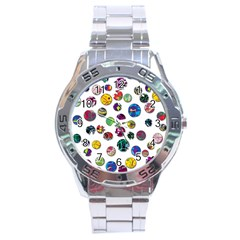 Play with me Stainless Steel Analogue Watch