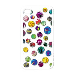 Play with me Apple iPhone 4 Case (White)
