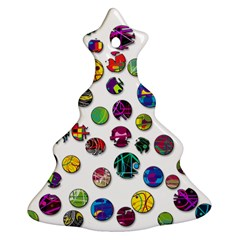 Play with me Christmas Tree Ornament (2 Sides)