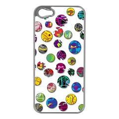 Play with me Apple iPhone 5 Case (Silver)
