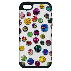 Play with me Apple iPhone 5 Hardshell Case (PC+Silicone)