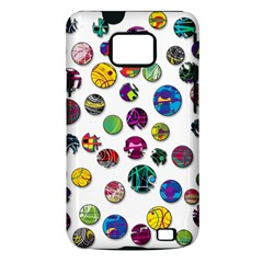 Play with me Samsung Galaxy S II i9100 Hardshell Case (PC+Silicone)