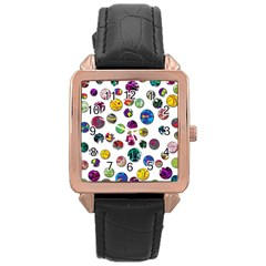 Play with me Rose Gold Leather Watch