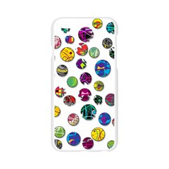 Play with me Apple Seamless iPhone 6/6S Case (Transparent)