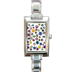 Play with me Rectangle Italian Charm Watch