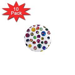 Play With Me 1  Mini Magnet (10 Pack)