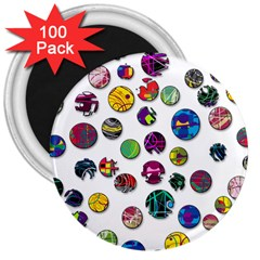 Play with me 3  Magnets (100 pack)