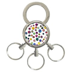 Play with me 3-Ring Key Chains