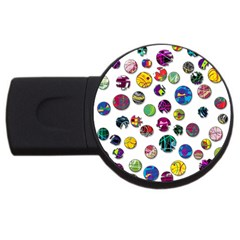 Play with me USB Flash Drive Round (4 GB)