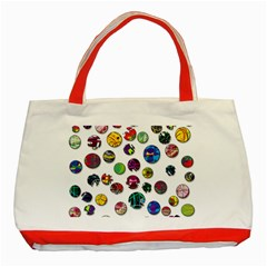 Play with me Classic Tote Bag (Red)