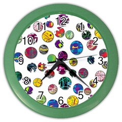 Play with me Color Wall Clocks