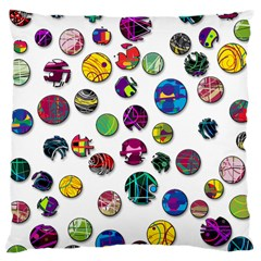 Play with me Large Cushion Case (Two Sides)