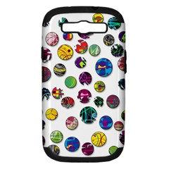 Play with me Samsung Galaxy S III Hardshell Case (PC+Silicone)