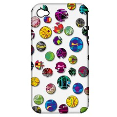 Play with me Apple iPhone 4/4S Hardshell Case (PC+Silicone)