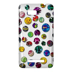 Play with me HTC One SU T528W Hardshell Case