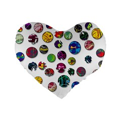 Play with me Standard 16  Premium Heart Shape Cushions