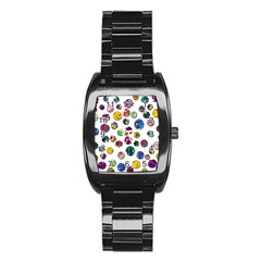 Play with me Stainless Steel Barrel Watch