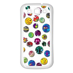 Play with me Samsung Galaxy S3 Back Case (White)