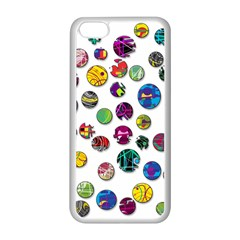 Play with me Apple iPhone 5C Seamless Case (White)