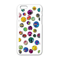 Play with me Apple iPhone 6/6S White Enamel Case