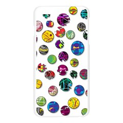Play with me Apple Seamless iPhone 6 Plus/6S Plus Case (Transparent)