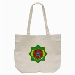 National Emblem of Turkmenistan  Tote Bag (Cream)