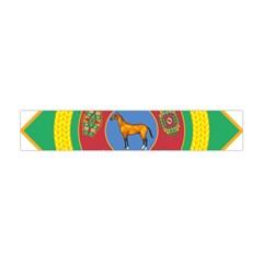 National Emblem of Turkmenistan  Flano Scarf (Mini)