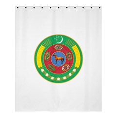 National Emblem Of Turkmenistan, 2000 2003 Shower Curtain 60  X 72  (medium)