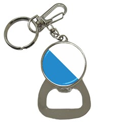Flag of Canton of Zürich Bottle Opener Key Chains