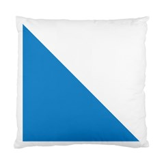 Flag of Canton of Zürich Standard Cushion Case (One Side)