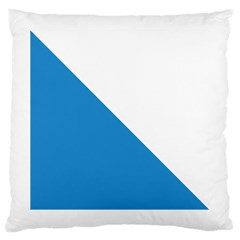 Flag of Canton of Zürich Large Cushion Case (Two Sides)