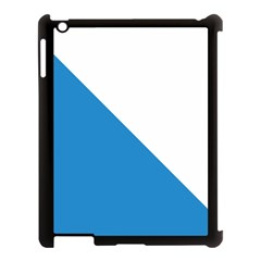 Flag of Canton of Zürich Apple iPad 3/4 Case (Black)