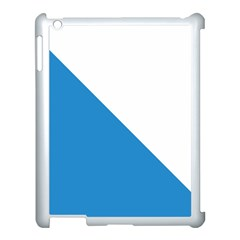 Flag of Canton of Zürich Apple iPad 3/4 Case (White)