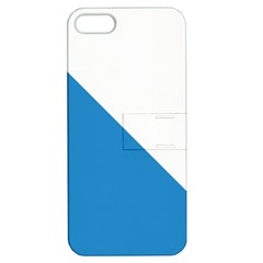 Flag of Canton of Zürich Apple iPhone 5 Hardshell Case with Stand