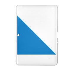 Flag of Canton of Zürich Samsung Galaxy Tab 2 (10.1 ) P5100 Hardshell Case
