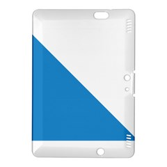 Flag of Canton of Zürich Kindle Fire HDX 8.9  Hardshell Case