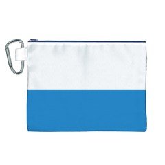 Flag of Canton of Lucerne Canvas Cosmetic Bag (L)
