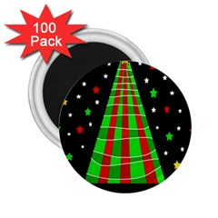 Xmas tree  2.25  Magnets (100 pack)