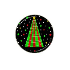 Xmas tree  Hat Clip Ball Marker (4 pack)