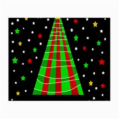 Xmas tree  Small Glasses Cloth