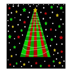 Xmas tree  Shower Curtain 66  x 72  (Large)