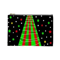 Xmas tree  Cosmetic Bag (Large)