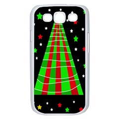 Xmas tree  Samsung Galaxy S III Case (White)