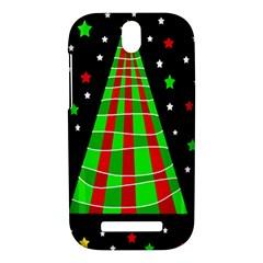 Xmas tree  HTC One SV Hardshell Case