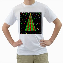 Xmas tree  Men s T-Shirt (White)