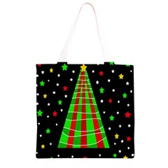 Xmas tree  Grocery Light Tote Bag