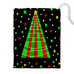 Xmas tree  Drawstring Pouches (XXL)