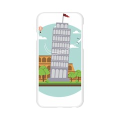 Roma Landmark Landscape Italy Rome Apple Seamless iPhone 6/6S Case (Transparent)